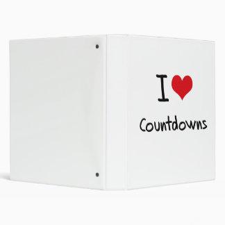I love Countdowns Binders