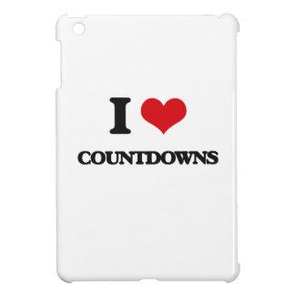 I love Countdowns iPad Mini Cover