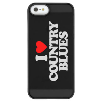 I LOVE COUNTRY BLUES PERMAFROST® iPhone SE/5/5s CASE