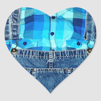 I love Country Boys or Girls! Heart Sticker