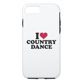 I love country dance iPhone 8/7 case