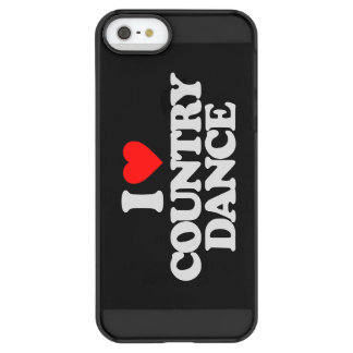 I LOVE COUNTRY DANCE PERMAFROST® iPhone SE/5/5s CASE