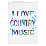 I Love Country Greeting Card