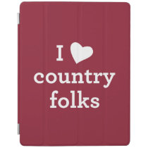 I Love Country iPad Smart Cover