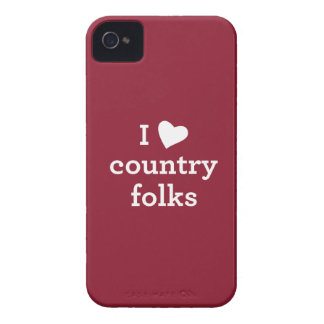 I Love Country iPhone 4 Cover
