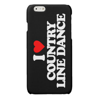 I LOVE COUNTRY LINE DANCE GLOSSY iPhone 6 CASE