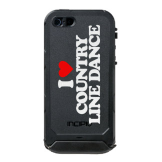 I LOVE COUNTRY LINE DANCE WATERPROOF CASE FOR iPhone SE/5/5s