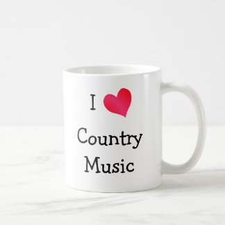 I Love Country Music Coffee Mug
