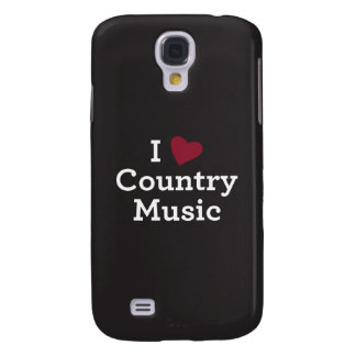 I Love Country Music Galaxy S4 Cover