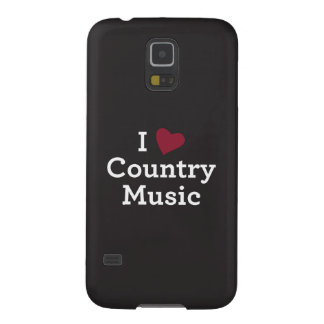 I Love Country Music Galaxy S5 Case