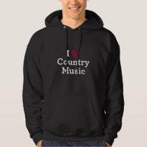 I Love Country Music Hoodie