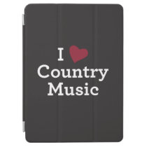 I Love Country Music iPad Air Cover