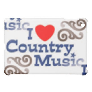 I Love Country Music iPad Mini Cover