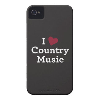 I Love Country Music iPhone 4 Case-Mate Case