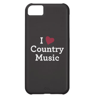 I Love Country Music iPhone 5C Cover