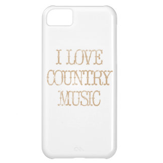 I Love Country Music iPhone 5C Covers