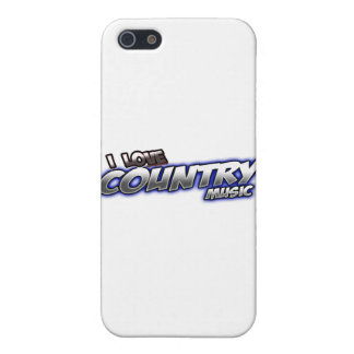 I Love COUNTRY music iPhone 5 Cover