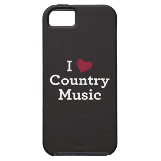 I Love Country Music iPhone SE/5/5s Case