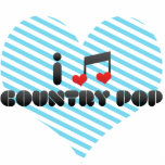 I Love Country Pop Photo Cutouts