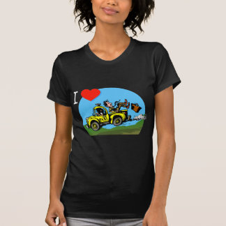I Love _ _ _ _ Country Taxi T-Shirt