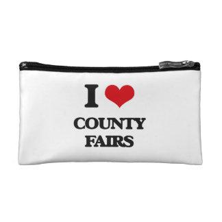 I love County Fairs Cosmetics Bags