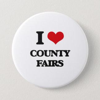 I love County Fairs Button