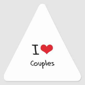 I love Couples Sticker