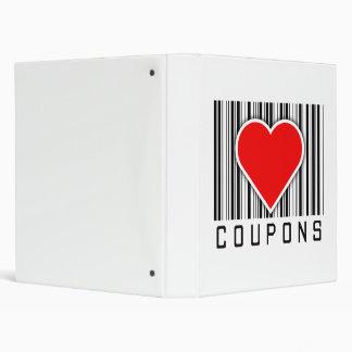 I Love Coupons Binder