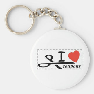 I LOVE COUPONS KEY CHAINS