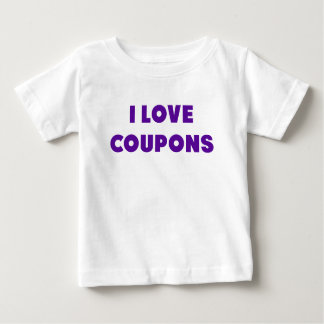 I Love Coupons.png Infant T-shirt