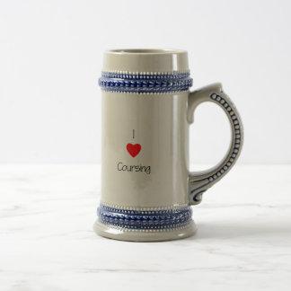 I Love Coursing Mug