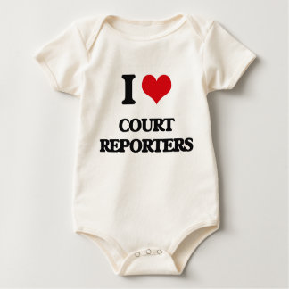 I love Court Reporters Bodysuits