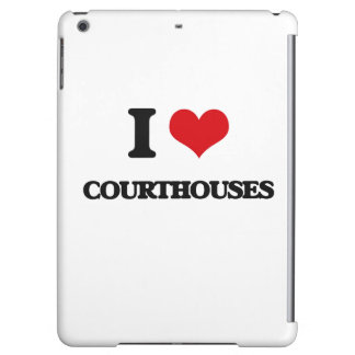 I love Courthouses iPad Air Cases