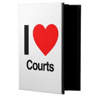 i love courts iPad air covers