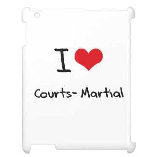 I love Courts-Martial Cover For The iPad