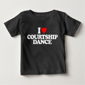 I LOVE COURTSHIP DANCE BABY T-Shirt