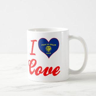 I Love Cove, Oregon Coffee Mug