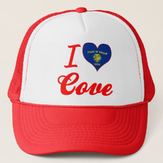 I Love Cove, Oregon Trucker Hat