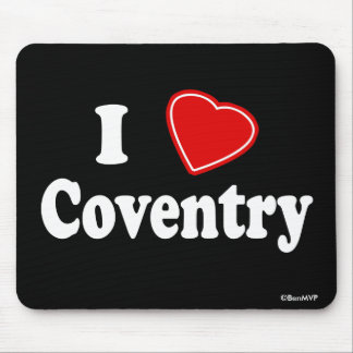 I Love Coventry Mouse Pad