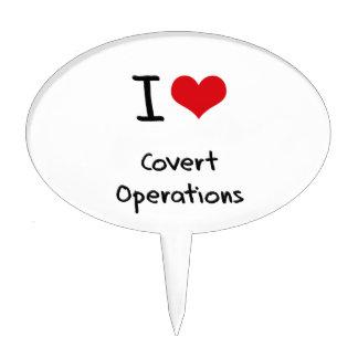 I love Covert Operations Cake Pick