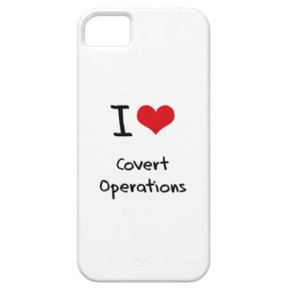 I love Covert Operations iPhone 5 Covers