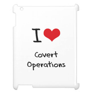 I love Covert Operations Case For The iPad 2 3 4