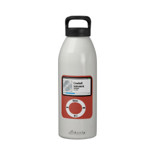 I love Cowbell. Water Bottle
