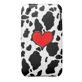 I love cows! iPhone 3 Case-Mate cases