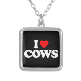 I LOVE COWS JEWELRY