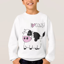 I love cows sweatshirt