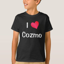 I Love Cozmo T-Shirt