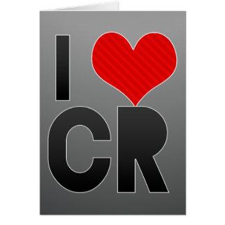 I Love CR Card