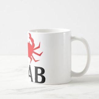 I Love Crab Classic White Coffee Mug
