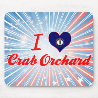 I Love Crab Orchard, Kentucky Mouse Pad